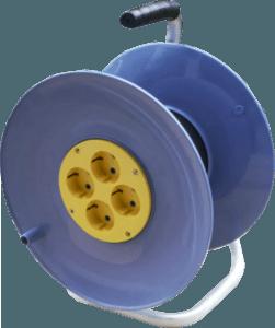 удлинитель на катушке четырехместный электрон